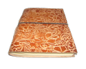 Embossed Designer Leather Writing Journal