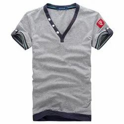 Polyester White Branded T-Shirts
