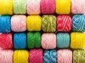 Multi Colored Dyed Yarn