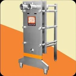 Ice Cream Mix Plate Heat Exchanger