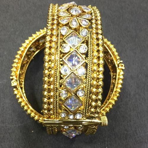 bracelets images best bangles ethnic fashion women on bollywood latest cz pearl indian bracelet gold new kada handmade