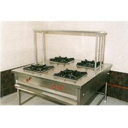 Four Burner Cooking Range