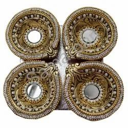 Golden Stone Diya 7092004891091