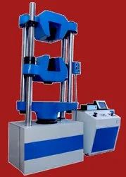 Stainless Steel Front Loading Universal Testing Machine, Capacity: 450 Kgf