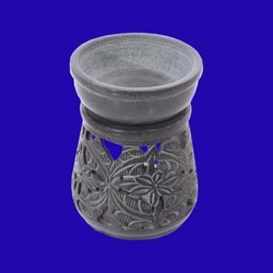 Large Soapstone Essential Oil Burner