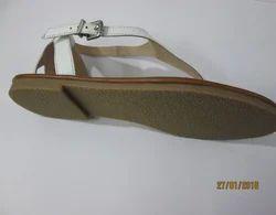 Leather Ladies Slipper