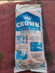 Latex Orange Crown Glove 140 Gm Very Good Rubber Quality
