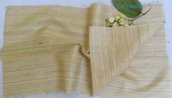 Handloom Tussar Ghicha Silk Fabric