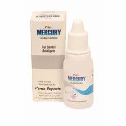 Mercury Double Distilled Dental Amalgam