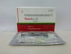 Nandrolone deconate 25 mg with dispo syringe injection