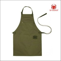 Polyester Plain And Printed Work Wear Apron