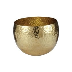 Mini Conical Bowl with Brass Handle