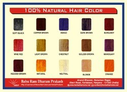100% Natural Hair Color
