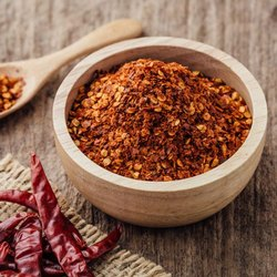 Kasaa Crushed Red Chili Flakes, Packaging Size: 200 gm
