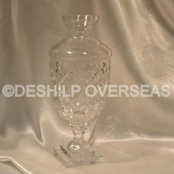 Crystal Cutting Flower Vases