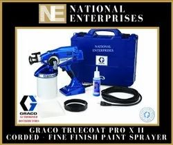 Truecoat Pro X Ii Corded Graco Fine Finish Paint Sprayer