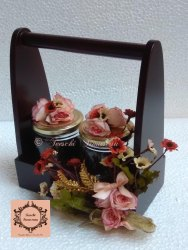 Wooden Flower Bouquets Gift
