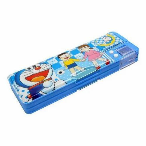 Plastic Kids Pencil Box For School Rs 38 00 Per Piece Sethiya Enterprises Id 20682896412