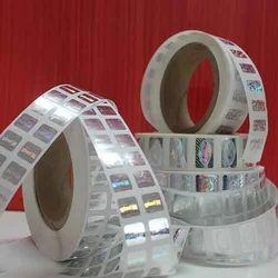 Roll Form Hologram Sticker