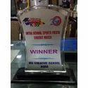 School Winner Acrylic Trophy