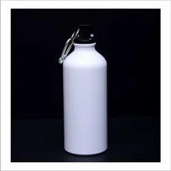 White Stainless Steel Sipper Bottle, Capacity: 1 Litre