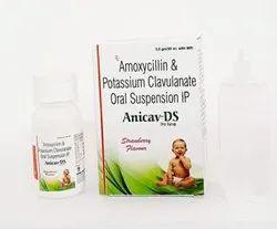 Amoxycillin  Clavulanic Acid Dry Syrup