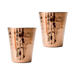Hammered Copper Shot Glass, Size: 25 to 50 mL