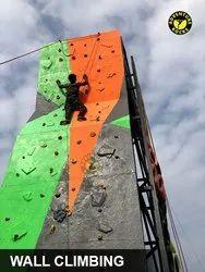High Quality Fiber Outdoor Climbing Wall