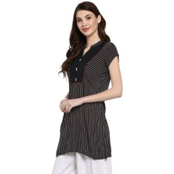 Ladies Black Short Kurtis