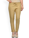 Women's Cotton Slim Fit Trousers