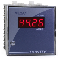0.5 Inch Red Seven Segment Trinity ME2A1 Single Phase Digital Ammeter