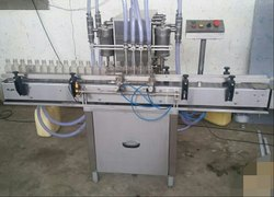 Fully Automatic Plastic Bottle Liquid Filling Machine