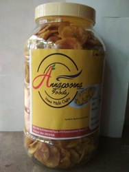 Annapoorna Foods Natural Flavour Banana Chips, Packaging Type: 500 Gm Per Bottle