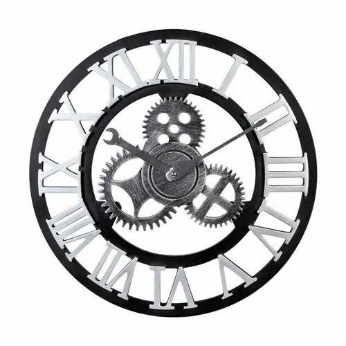 Roman Mechanical Clock, Size: 15.5 Diameter