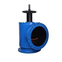 Fabricated Right Angle Valve