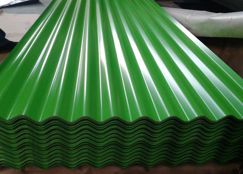 Green Galvanized Iron Corrugated Roofing Sheets