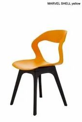 Sonika Plastic Modern Chair for Cafe