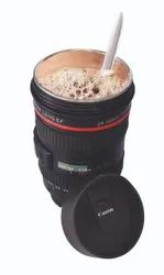 Camera Lens Mug With, Stainless Steel Travel Thermos Camera Lens Coffee Tea Cup Mug Coffee Cup