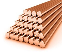 Copper Non Ferrous Round Bars