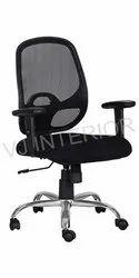 Computer Revolving Mesh  Chair