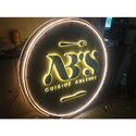 LED Restaurant Signage Logo