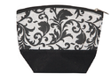 Sangeetha Bag Women''s Cosmetic Bag ( Black And White)