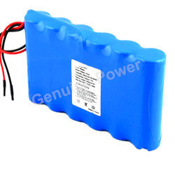 Lithium Battery Pack 12v 4400mah for Medical Patient Monitor