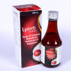Lycopene, Multivitamin, Multimineral & Antioxidant Syrup