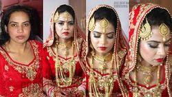 Chandigarh Bride Makeup