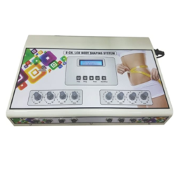 LCD 8 Ch Body Shaping System