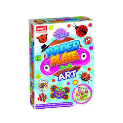 Ankit Toys Kids Paper Plate Art and Craft