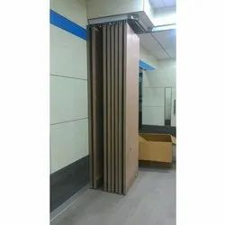 Wooden Sliding Folding Partition