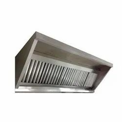 STAINLESS STEEL EXHAUST HOOD.