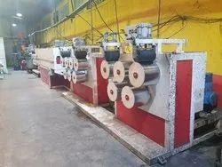 Semi Automatic PET Strap Making Plant